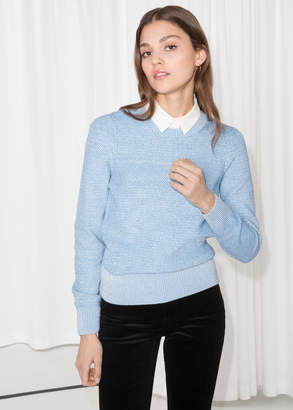 And other stories Shoulder Puff Sweater