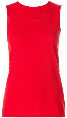 Le Tricot Perugia basic tank top