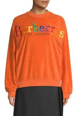 Burberry Rainbow Logo Sweatshirt