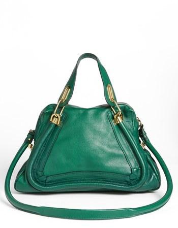Chloé 'Medium Paraty' Leather Satchel