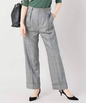 Couture VERMEIL par iena DADAM グレンチェック パンツ