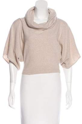 Lafayette 148 Wool Cropped Sweater