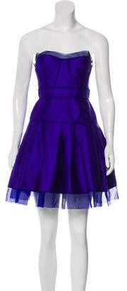 Zac Posen Knee-Length Sleeveless Dress
