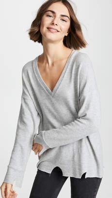 LnA Brushed Bitten Sweater