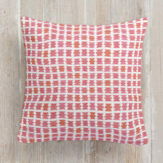 Positive Negative Bows Square Pillow