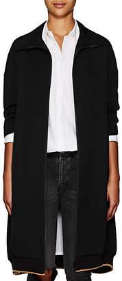 Yohji Yamamoto Regulation Women's Wool Twill Coat - Black