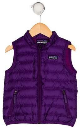 Patagonia Boys' Down Zip-Up Vest