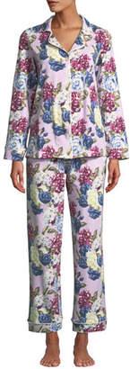 BedHead Plus Size Floral Jewels Classic Pajama Set