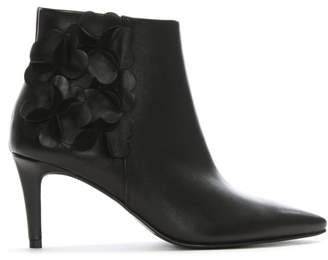 Kennel + Schmenger Kennel & Schmenger Floral Black Leather Ankle Boots