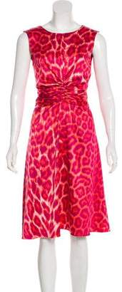 Just Cavalli Sleeveless Printed Dress