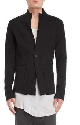 Thom/Krom Raw Edge Slim Fit Jacket