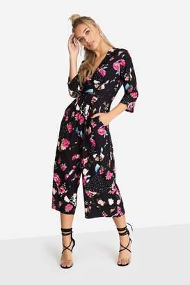 9db7280edda Next Womens Girls On Film Floral Print Culotte Jumpsuit