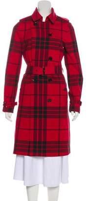 MICHAEL Michael Kors Printed Long Coat