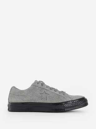 Converse GREY ONE STAR OX SNEAKERS