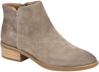 Comfortiva Mixed Leather Booties - Carrie