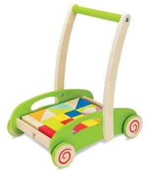 Hape Toys Block& Roll Mobile Construction Unit