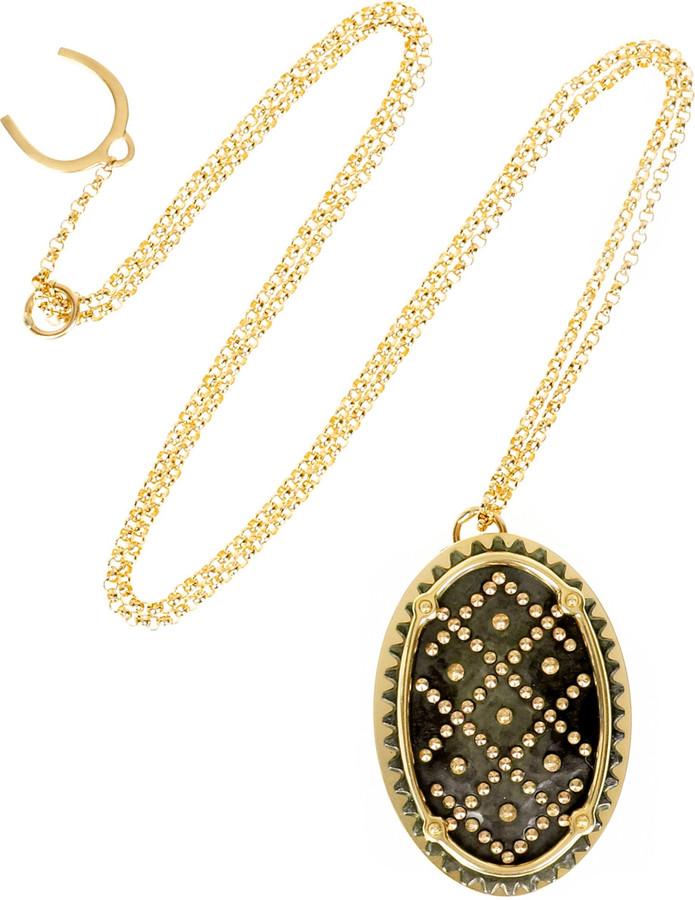 Philip Crangi Mara pendant necklace