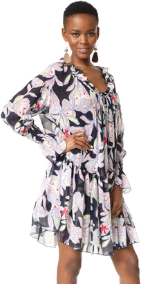 See by Chloe Ruffle Long Sleeve Dress $565 thestylecure.com