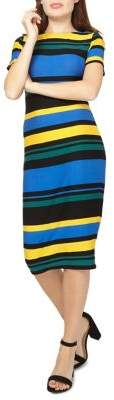 Dorothy Perkins Striped Bodycon Dress