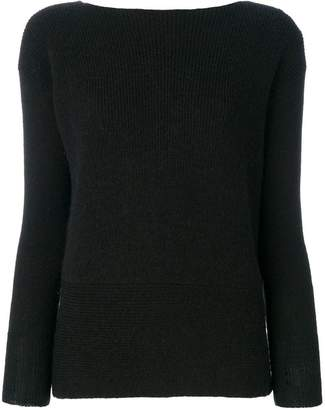 Liu Jo V-neck wrap jumper