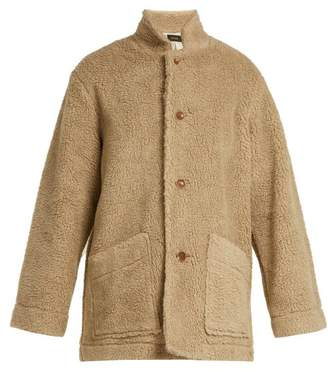 Chimala Faux Fur Teddy Coat - Womens - Light Brown