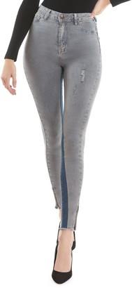 Anthony Logistics For Men La La High-Rise Side Zip Skinny Jeans