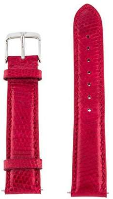 Michele 18mm Lizard Watch Strap