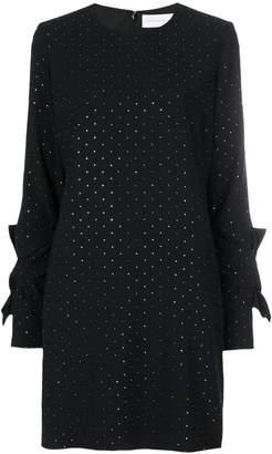 Victoria Beckham Victoria stud embellished shift dress