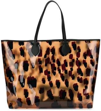 Just Cavalli clear tote bag
