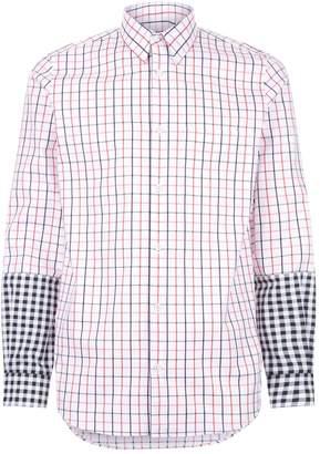 Stella McCartney Contrast Cuff Checked Shirt