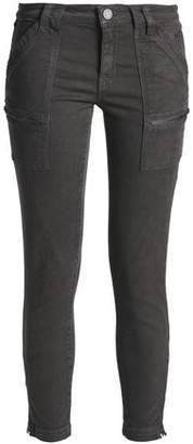 Joie Zip-Detailed High-Rise Skinny Jeans
