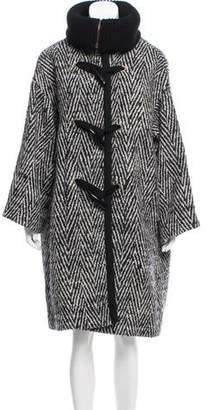 Chloé Wool Knee-Length Coat w/ Tags