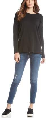 Fifteen-Twenty Fifteen Twenty Side Lace-Up Sweatshirt