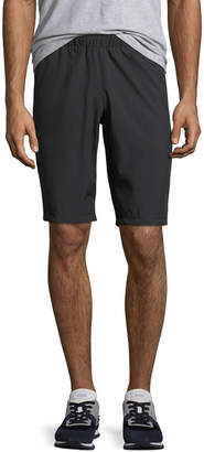 Tahari Sport Men's Mesh-Panel Woven Pull-On Shorts