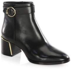 Tory Burch Sofia Leather Booties