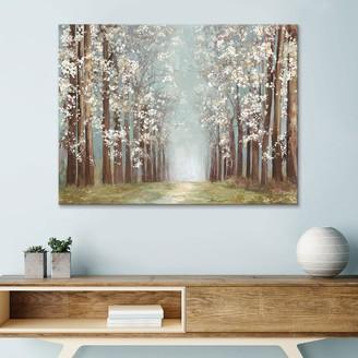Artissimo Designs Apple Orchard Canvas Wall Art