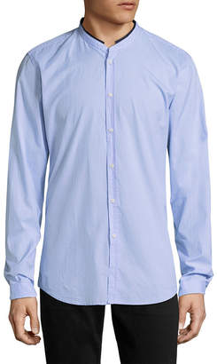 The Kooples Stand Collar Sportshirt