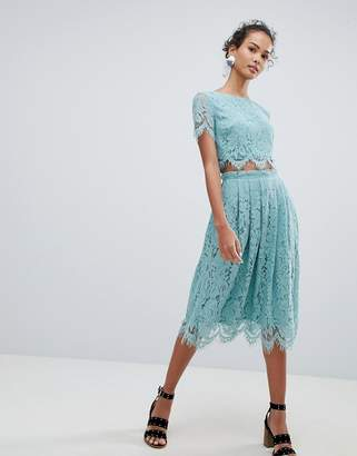 New Look Lace Two-Piece Midi Skirt