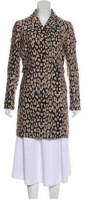 Gryphon Patterned Knee-Length Coat