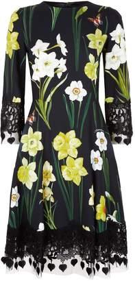Dolce & Gabbana Daffodil Midi Dress