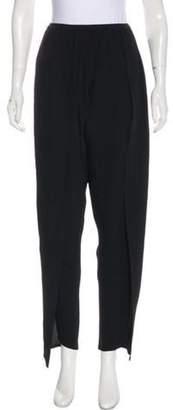 Saint Laurent High-Rise Casual Pants Black High-Rise Casual Pants