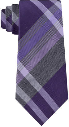 Kenneth Cole Reaction Men Tre Plaid Tie