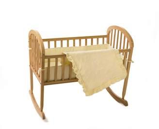 American Baby Company 1520-EC Teddy Bear Terry Cradle Set