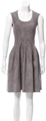 Alaia Fit and Flare Mini Dress