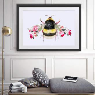 Bumble Bee Lola Design Ltd Botanical Art Print