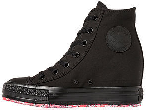 Converse The Chuck Taylor All Star Platform Plus Sneaker in Black