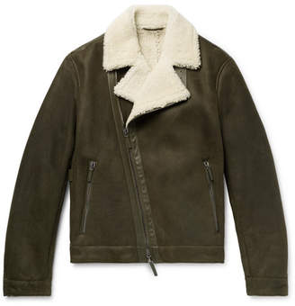 Joseph Winston Slim-Fit Shearling Jacket