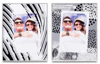 L'ge INSTAX MINI BY FUJIFILM Black & White LGE Magnetic Frames - Pack of 2