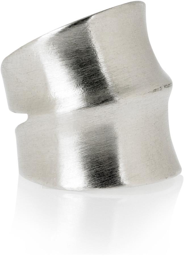Dannijo Jacinda silver plated ring