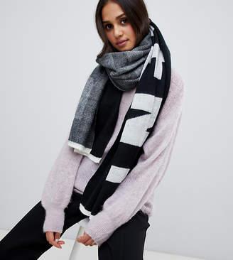Stitch & Pieces slogan football scarf